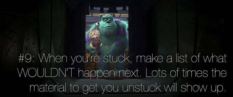pixar's 22 rules of storytelling as image macros (10)