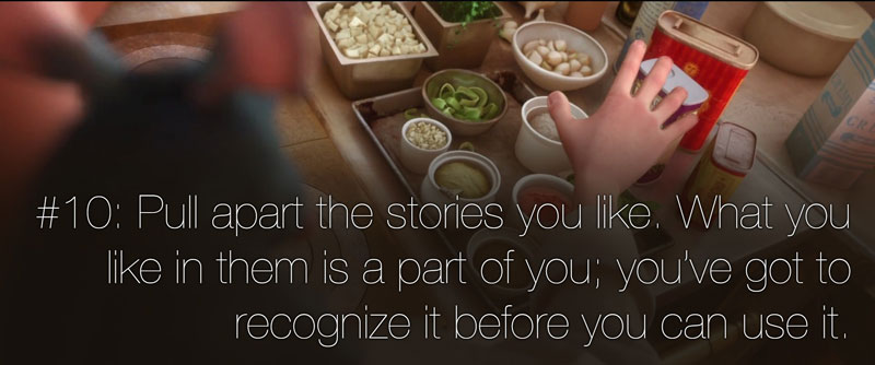 pixar's 22 rules of storytelling as image macros (11)