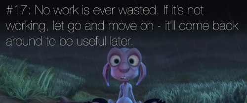 pixar's 22 rules of storytelling as image macros (18)