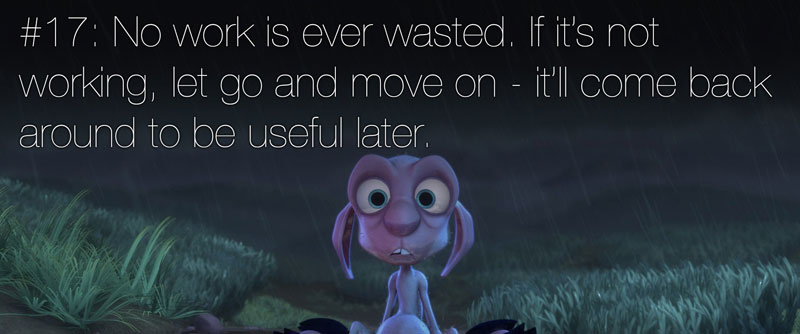 pixar's 22 rules of storytelling as image macros (18)