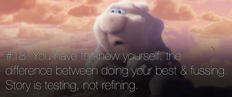 pixar's 22 rules of storytelling as image macros (19)
