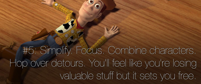 pixar's 22 rules of storytelling as image macros (6)