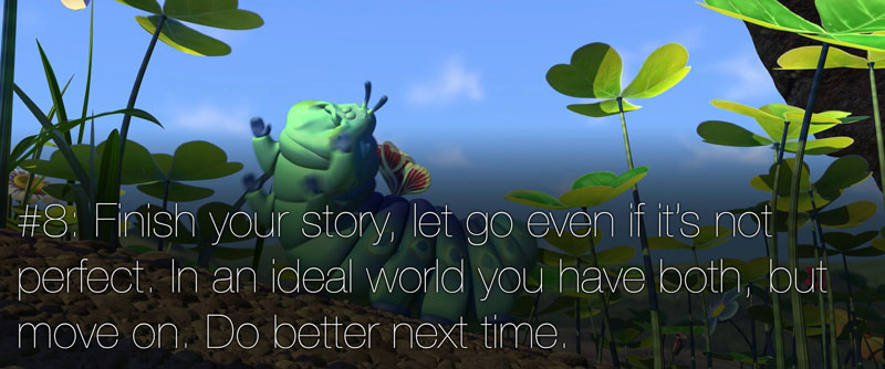 pixar's 22 rules of storytelling as image macros (9)