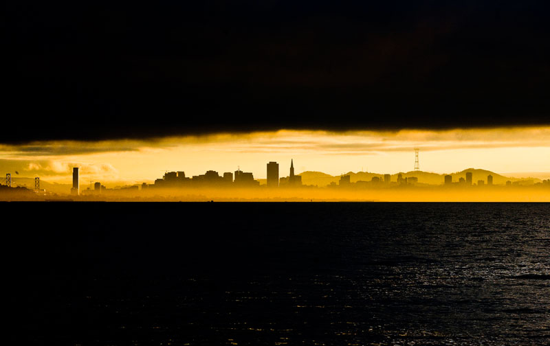 Picture of the Day: Skyline Silhouette atSunset