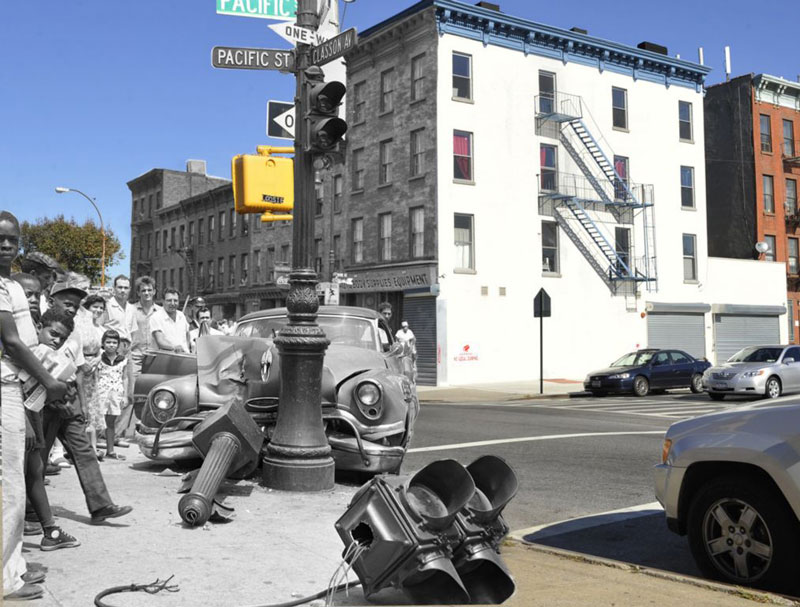 vintage photos of new york superimposed onto present day pics marc hermann (2)
