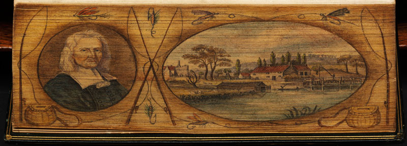 walton-portrait-fore-edge-book-painting