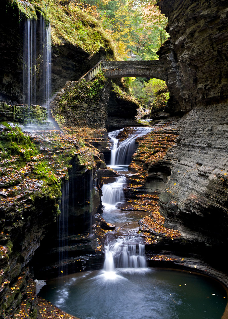 Picture of the day the gorge at watkins glen twistedsifter for Beautiful places to visit in new york state
