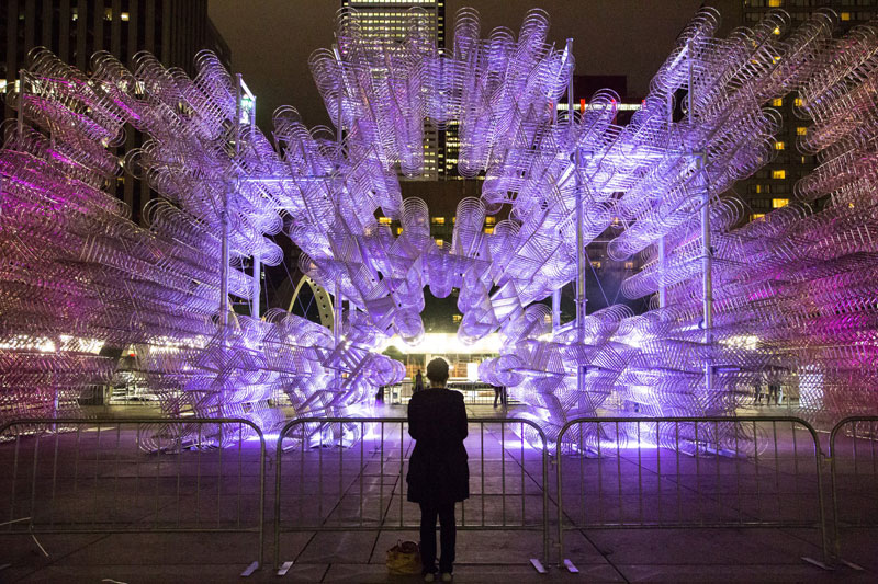 ai wei wei forever bicycles nuit blanche toronto 2013 (2)