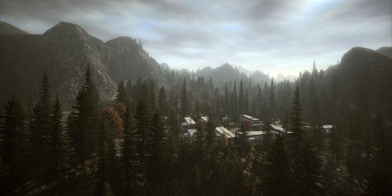alan wake theatricaltrailers 40 Cinematic Landscape Stills from Video Games
