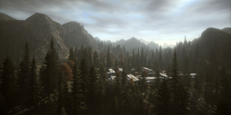 alan wake theatricaltrailers 40 Cinematic Landscape Stills from Video Games