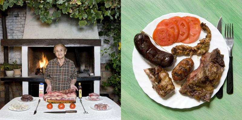 argentina grandmothers cook signature dish portraits gabriele galimberti Grandmothers Posing with their Signature Dish
