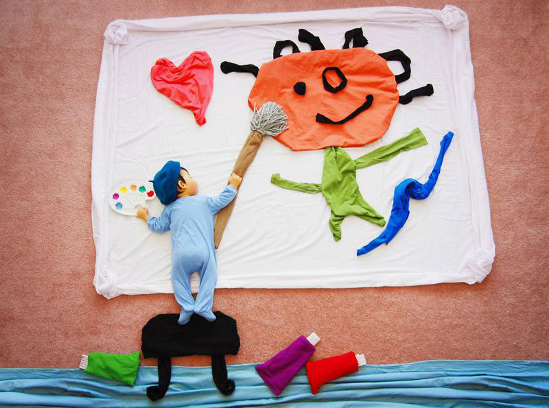 artist-queenie-liao-turns-nap-time-into-adventure-for-baby-son (7)