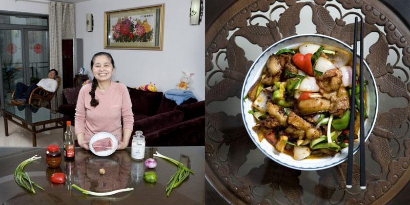 china grandmothers cook signature dish portraits gabriele galimberti Grandmothers Posing with their Signature Dish