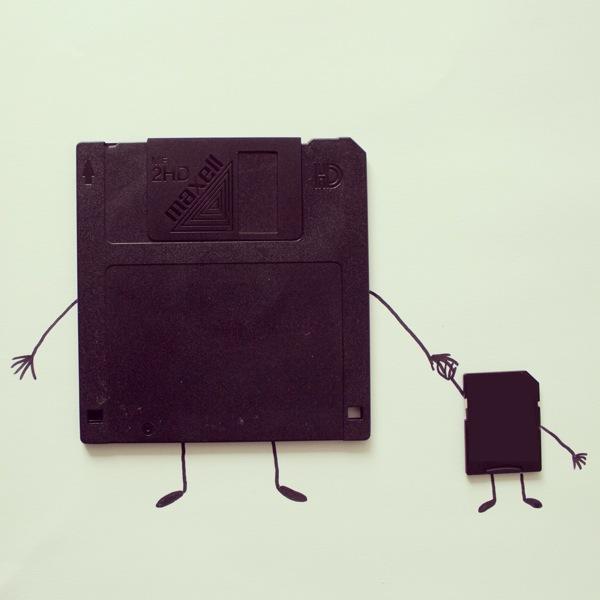 doodles com objetos do cotidiano Javier Pérez (1),en