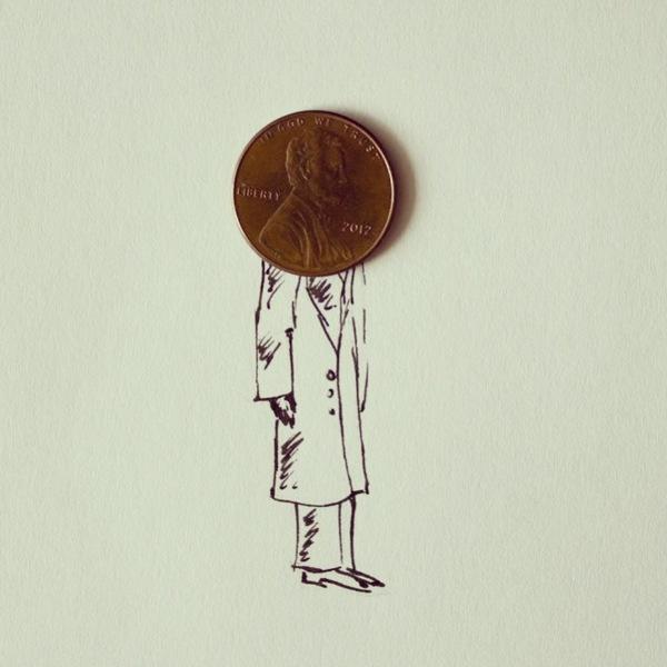 doodles com objetos do cotidiano Javier Pérez (16),en