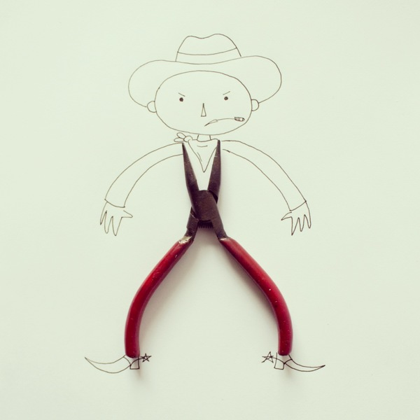 doodles with everyday objects javier perez (2)