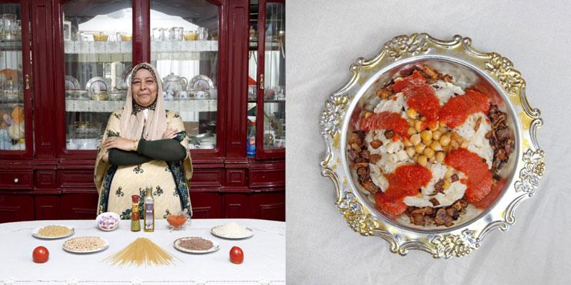 egypt grandmothers cook signature dish portraits gabriele galimberti Grandmothers Posing with their Signature Dish