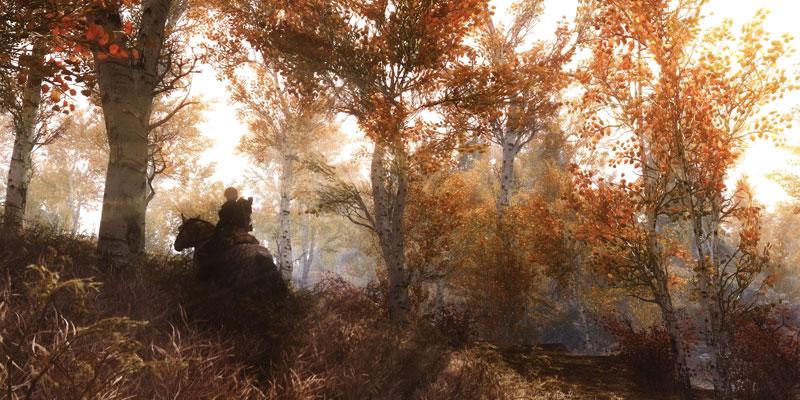 elder scrolls v skyrim duo 40 Cinematic Landscape Stills from Video Games