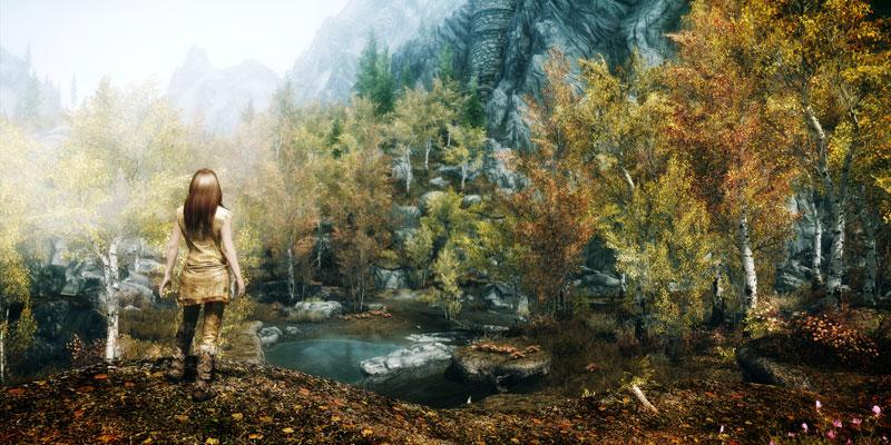 elder scrolls v skyrim elemental 40 Cinematic Landscape Stills from Video Games