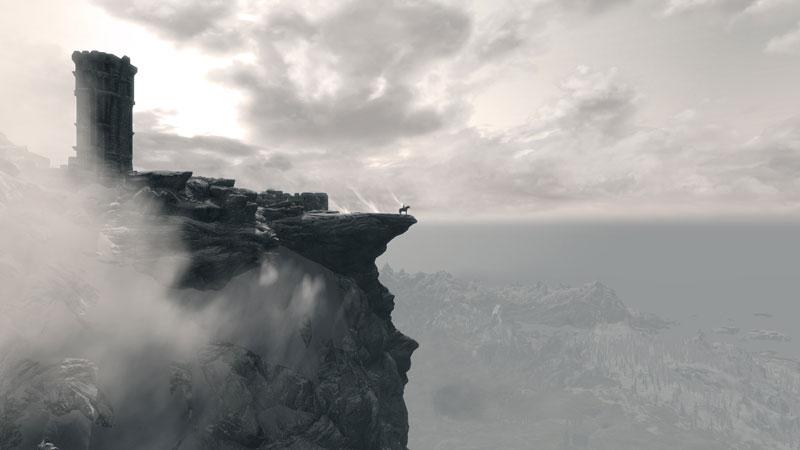 elder scrolls v skyrim skylords 40 Cinematic Landscape Stills from Video Games