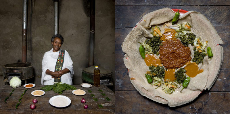 ethiopia grandmothers cook signature dish portraits gabriele galimberti Grandmothers Posing with their Signature Dish