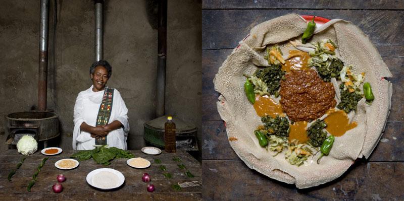 ethiopia grandmothers cook signature dish portraits gabriele galimberti Grandmothers Posing with their Signature Dish
