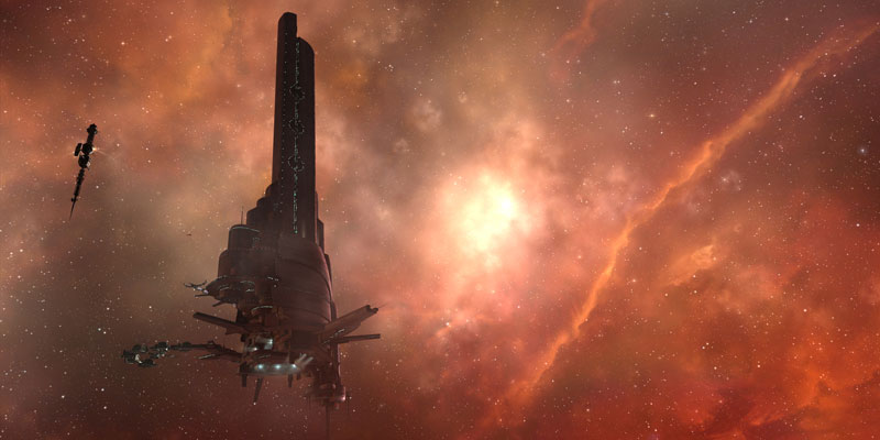 eve online creativelabs 40 Cinematic Landscape Stills from Video Games