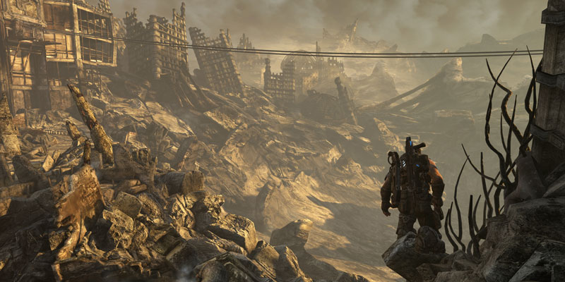 gears of war 3 atanyprice 40 Cinematic Landscape Stills from Video Games