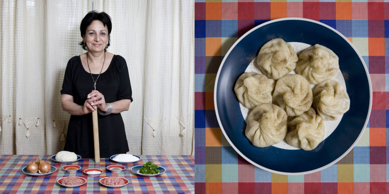 georgia grandmothers cook signature dish portraits gabriele galimberti Grandmothers Posing with their Signature Dish