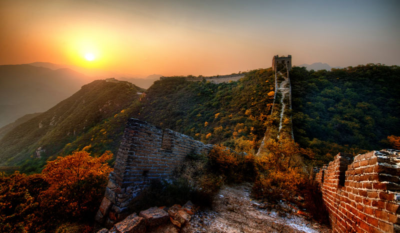 Picture of the Day: The Great(ly) Overgrown Wall ofChina