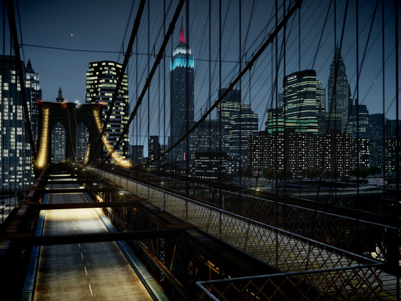 gta 4 40 Cinematic Landscape Stills from Video Games