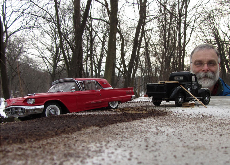 michael paul smith miniature car model maker Miniature Models of Famous Artists in their Studios