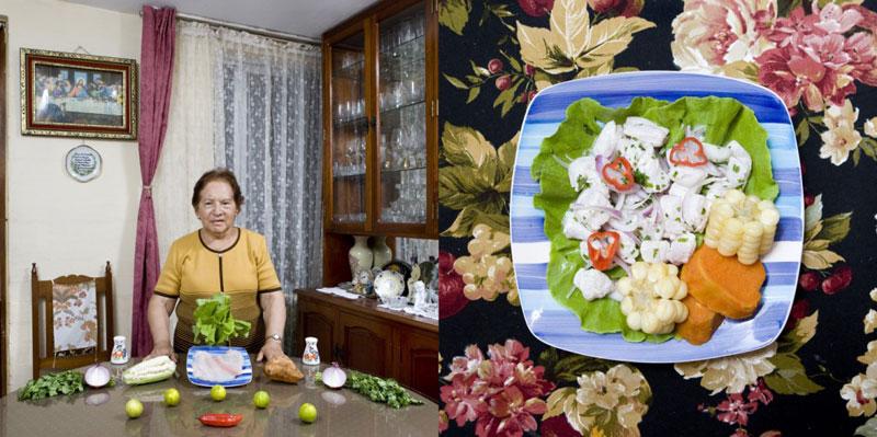 peru grandmothers cook signature dish portraits gabriele galimberti Grandmothers Posing with their Signature Dish