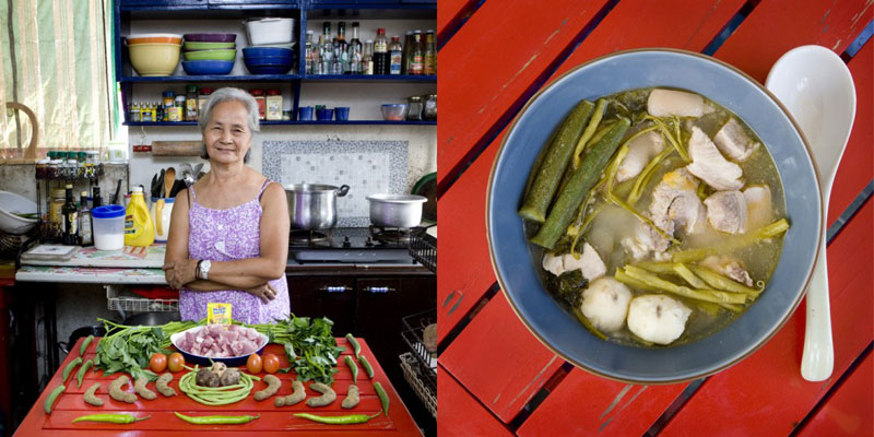 philippines grandmothers cook signature dish portraits gabriele galimberti Grandmothers Posing with their Signature Dish
