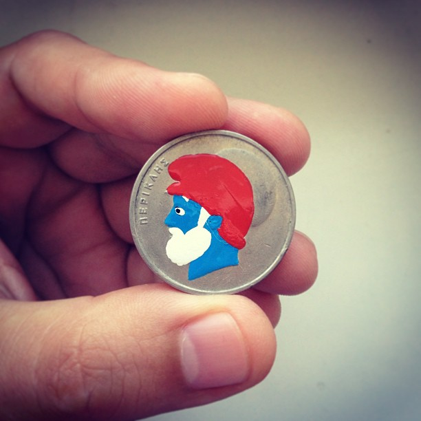 pop culture portraits painted onto coins by andre levy (1)