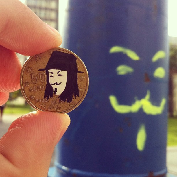 pop culture portraits painted onto coins by andre levy (6)