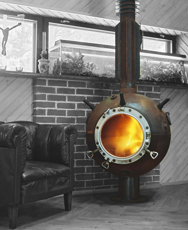 sea mines repurposed into furniture by mati karmin (1)