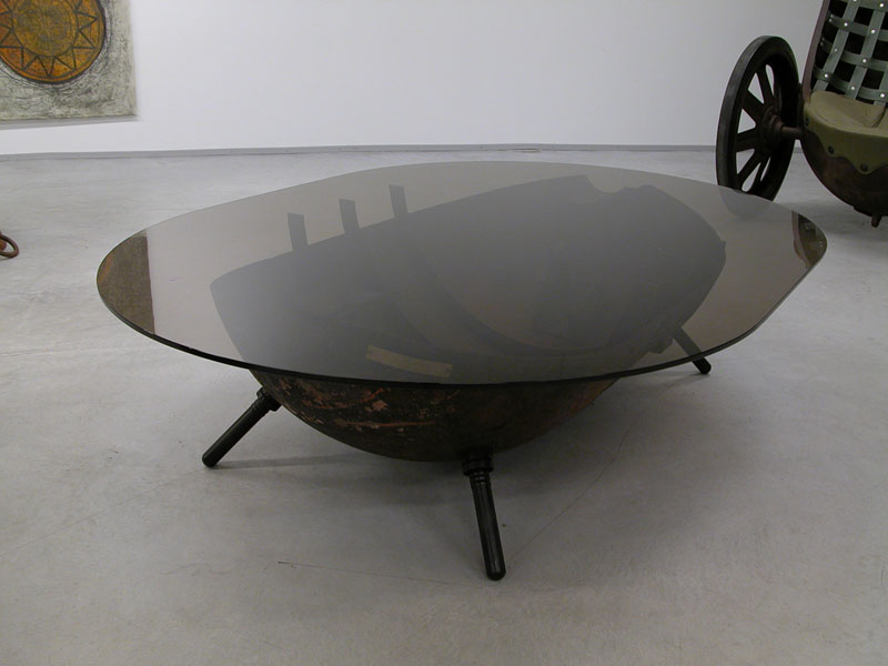 sea mines repurposed into furniture by mati karmin (5)