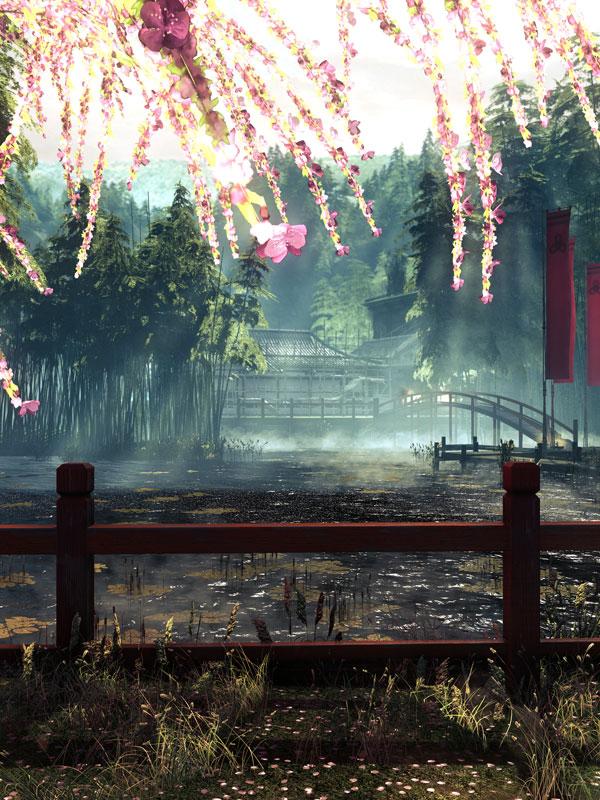 shadow warrior lifegoeson 40 Cinematic Landscape Stills from Video Games