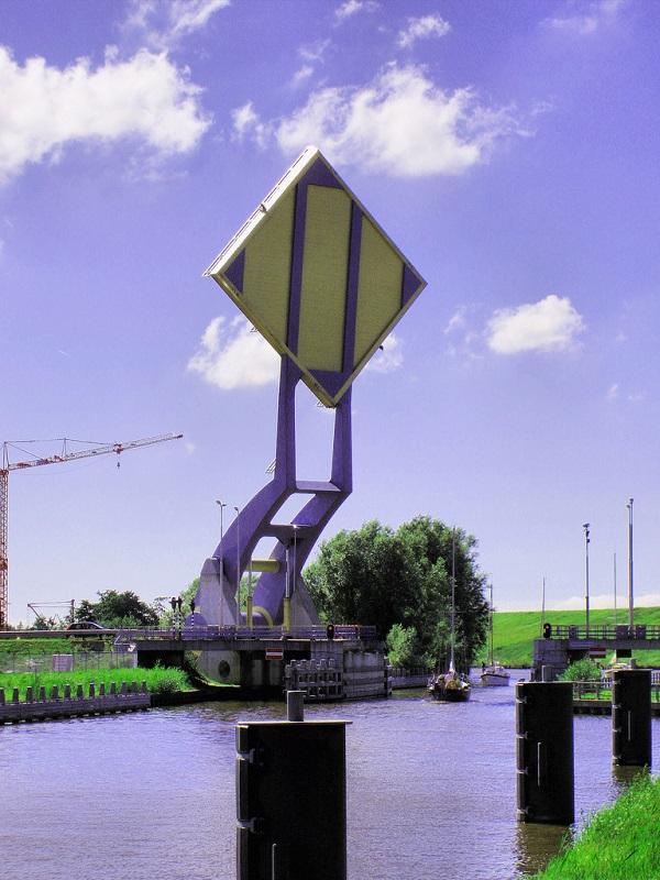 Slauerhoffbrug leeuwarden netherlands slauerhoff flying drawbridge (1)