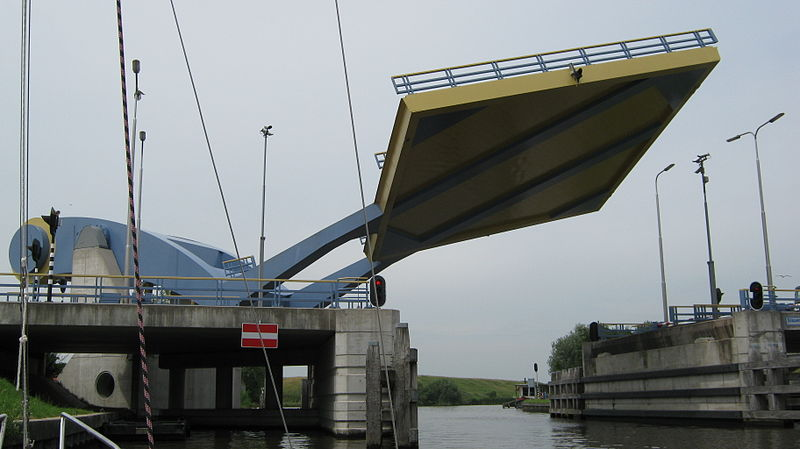 This Flying Drawbridge In The Netherlands Is Amazing