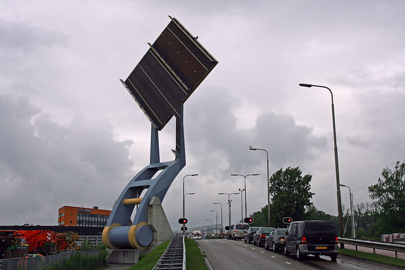 This 'Flying Drawbridge' in the Netherlands is Amazing