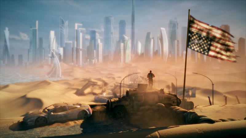 spec ops the line startofdarkness 40 Cinematic Landscape Stills from Video Games
