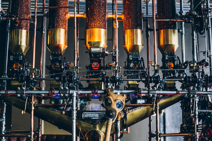 Check Out this Steampunk Coffee House in CapeTown