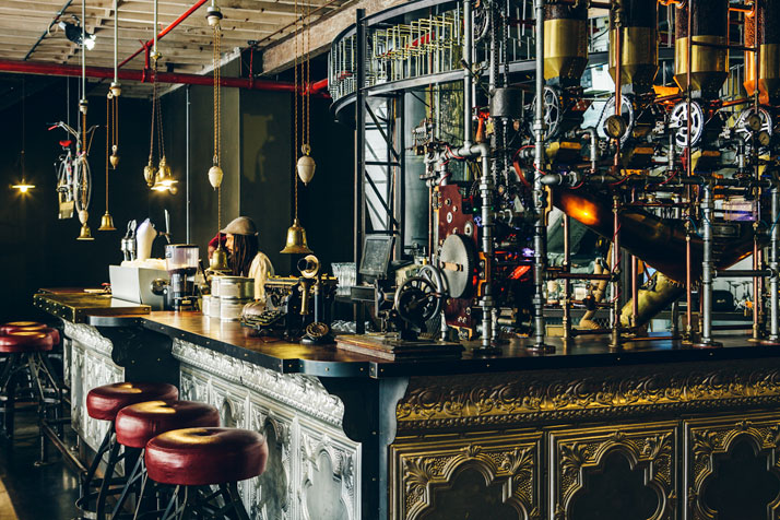 steampunk coffee house in cape town south africa truth (4)