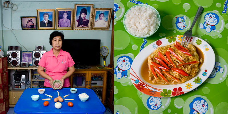 thailand grandmothers cook signature dish portraits gabriele galimberti Grandmothers Posing with their Signature Dish