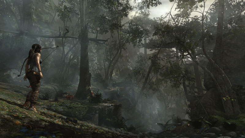 tomb raider anewdawn 40 Cinematic Landscape Stills from Video Games