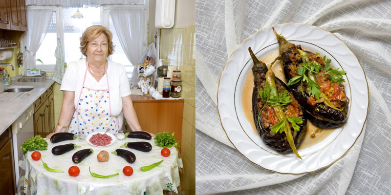 turkey grandmothers cook signature dish portraits gabriele galimberti Grandmothers Posing with their Signature Dish