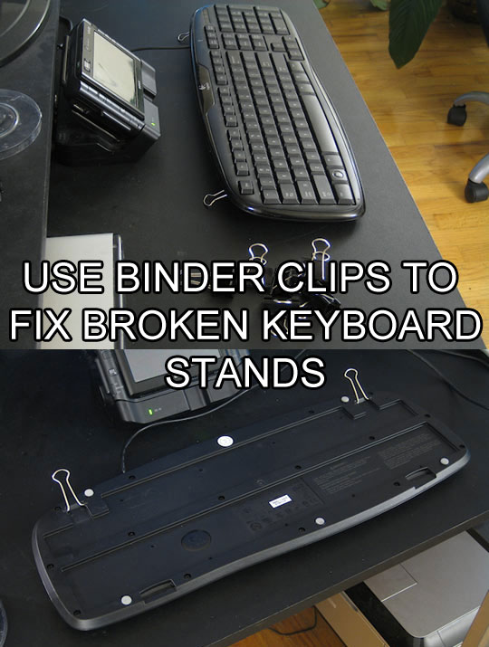 video basics awesome binder clip hacks