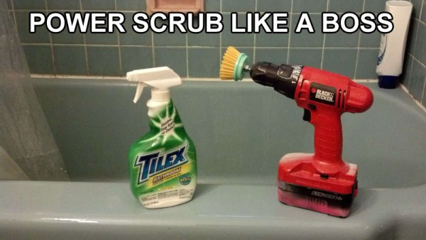 USE-DRILL-TO-POWER-SCRUB-ANYTHING-LIFE-HACK